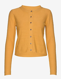 Cardigan - gilets - bright gold