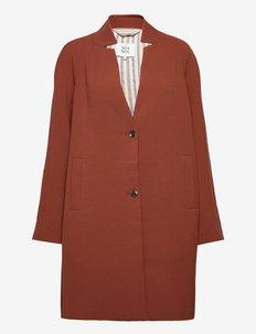 Light outerwear - lette frakker - cherry mahogany