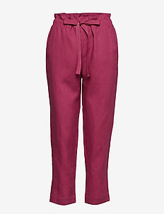 Trousers - RED VIOLET