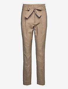 Trousers - broeken med straight ben - dune