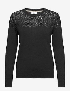 Pullover - truien - black