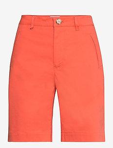 Shorts - chino shorts - summer fig