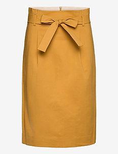 Skirt - midi rokken - bright gold