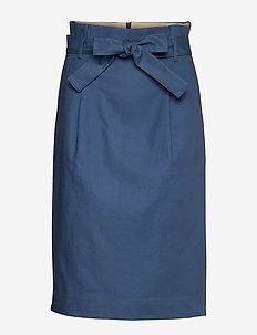 Skirt - midi kjolar - ensign blue
