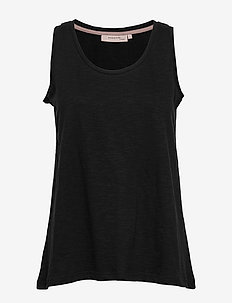Top - basis t-shirts - black