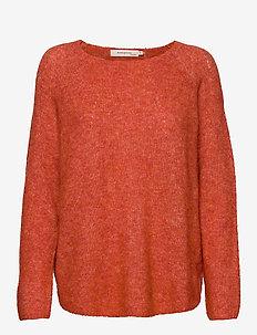 Pullover - RED MELANGE