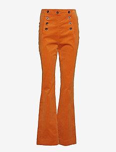 Trousers - TOMATO CREAM