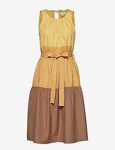 Dress short sleeve - ART YELLOW