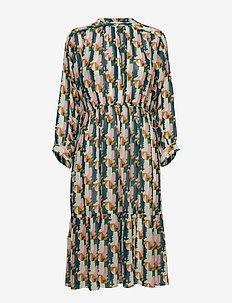 Dress long sleeve - PRINT MULTICOLOUR