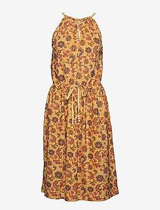 Dress sleeveless - PRINT YELLOW