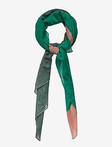 Scarves - PRINT GREEN