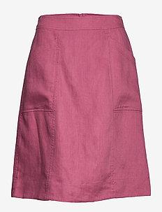 Skirt - jupes midi - rose wine