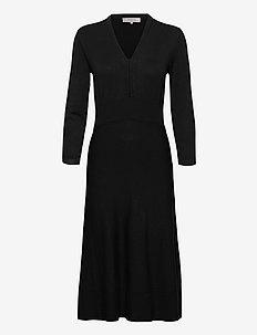 Dress long sleeve - hverdagskjoler - black