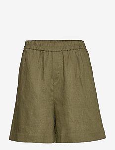 Shorts - casual shorts - winter moss
