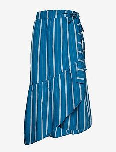 Skirt - jupes midi - art blue