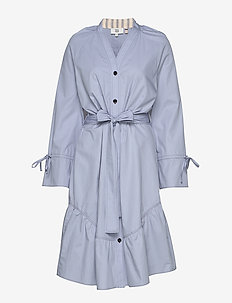 Dress long sleeve - blousejurken - zen blue