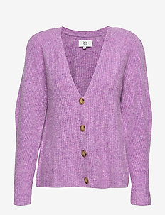 Cardigan - LIGHT PURPLE MEL