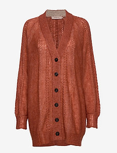 Cardigan - ETRUSCAN RED