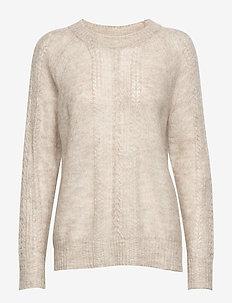 Pullover - OFF WHITE MELANGE