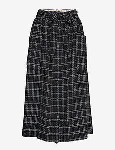 Skirt - ART BLACK