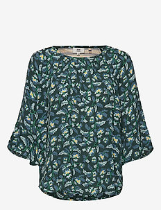 Blouse - PRINT GREEN