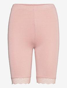 Leggings - cycling shorts - adobe rose