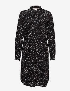 Dress long sleeve - shirt dresses - print black