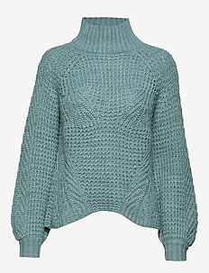 Pullover - swetry - cameo blue