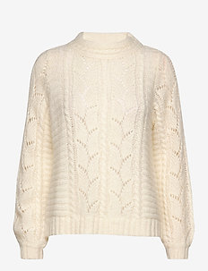 Pullover - swetry - bone white