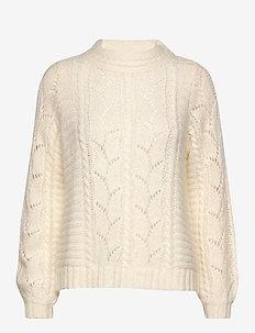 Pullover - truien - bone white