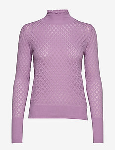Pullover - golfy - lavender herb