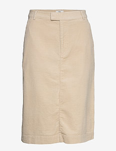 Skirt - jupes midi - oatmeal