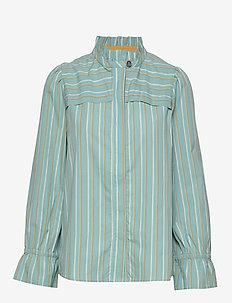 Blouse - blouses med lange mouwen - art blue