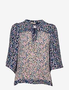 Blouse - blouses med lange mouwen - print purple