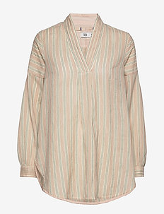 Tunic - langærmede bluser - art off white