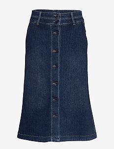 Skirt - jupes en jeans - denim dark blue