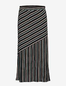 Skirt - jupes midi - art black