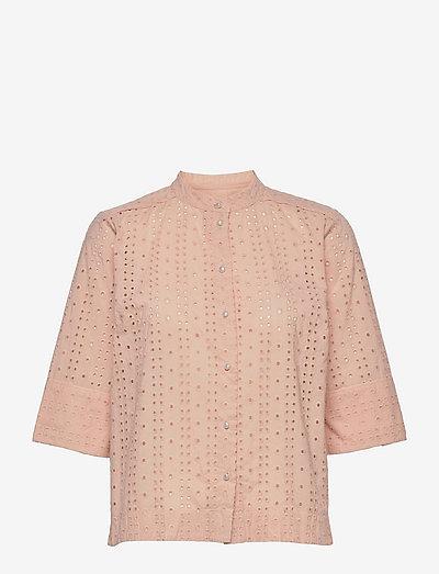 Blouse - short-sleeved blouses - spanish villa