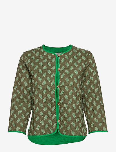 Jacket - quilted jackets - print green