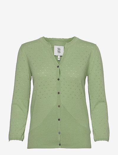 Cardigan - cardigans - fair green