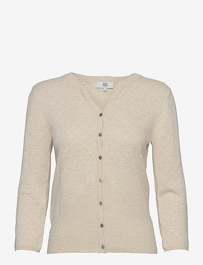 Cardigan - cardigans - light beige melange