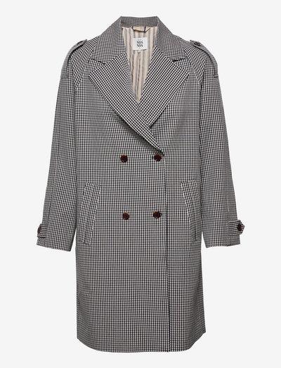 Light outerwear - trench coats - art blue