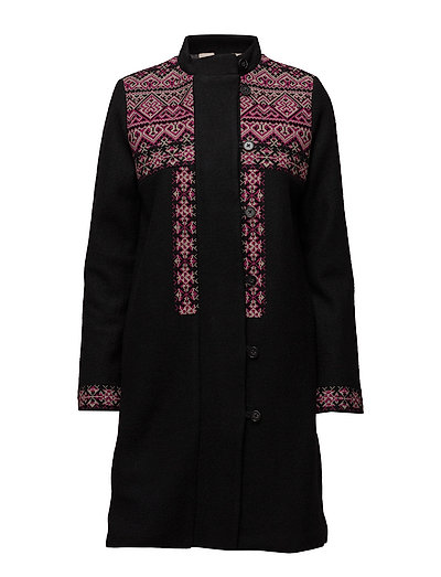 Light outerwear - BLACK MELANGE