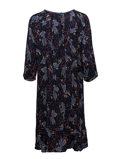 e7530f2f731d Dress Long Sleeve (Print Blue) (449.50 kr) - Noa Noa - Kjoler ...