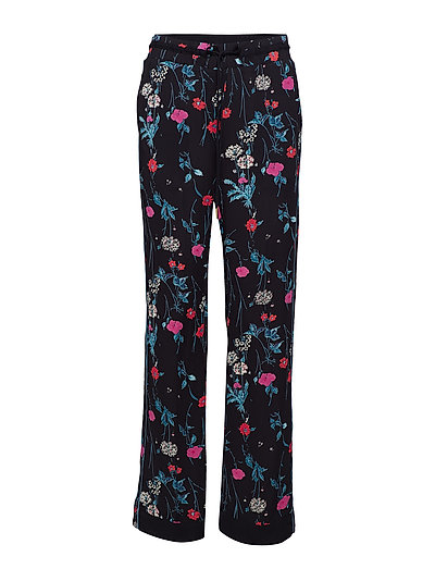 Trousers - PRINT BLACK