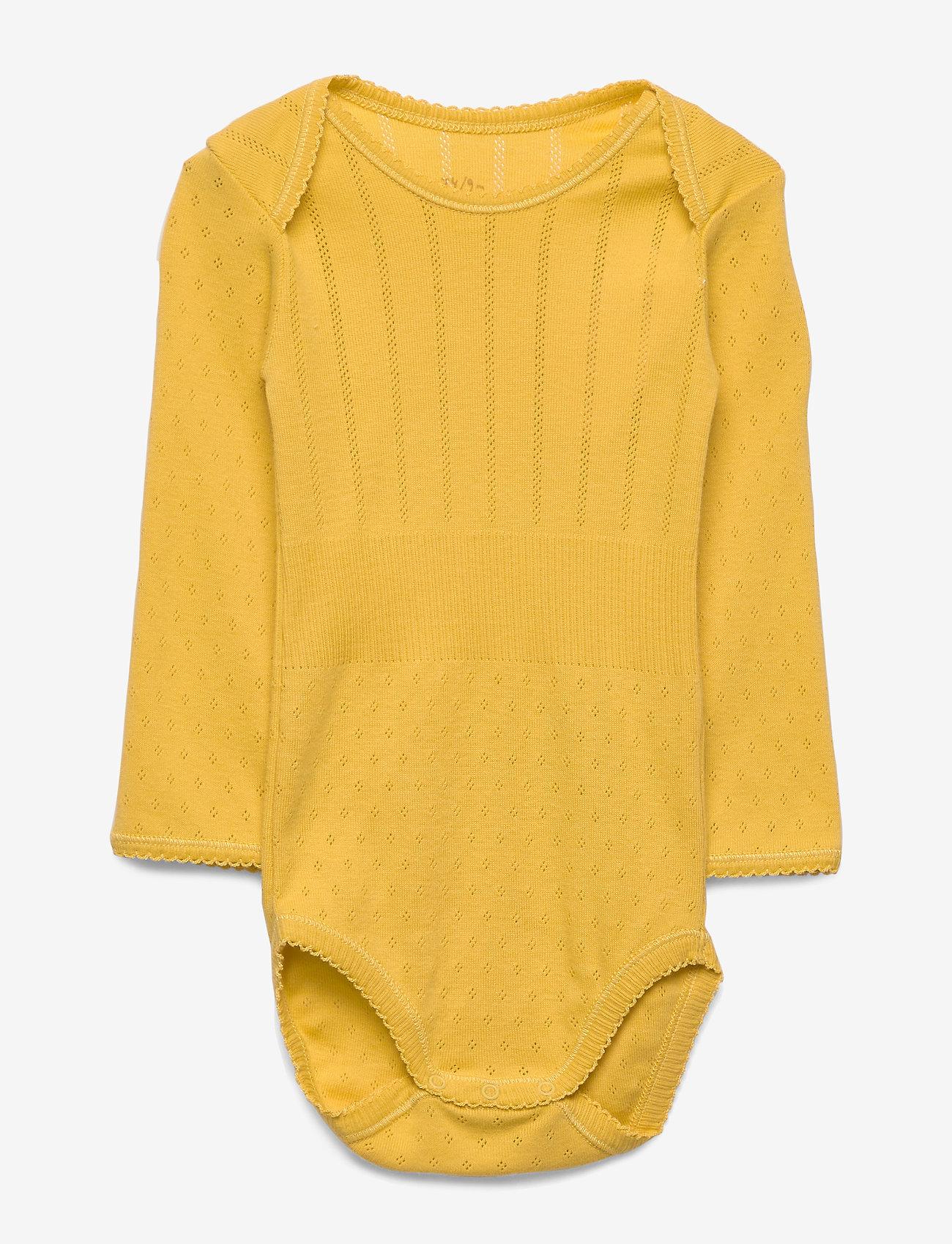 Noa Noa Miniature - Baby Body - long-sleeved - spicy mustard - 0