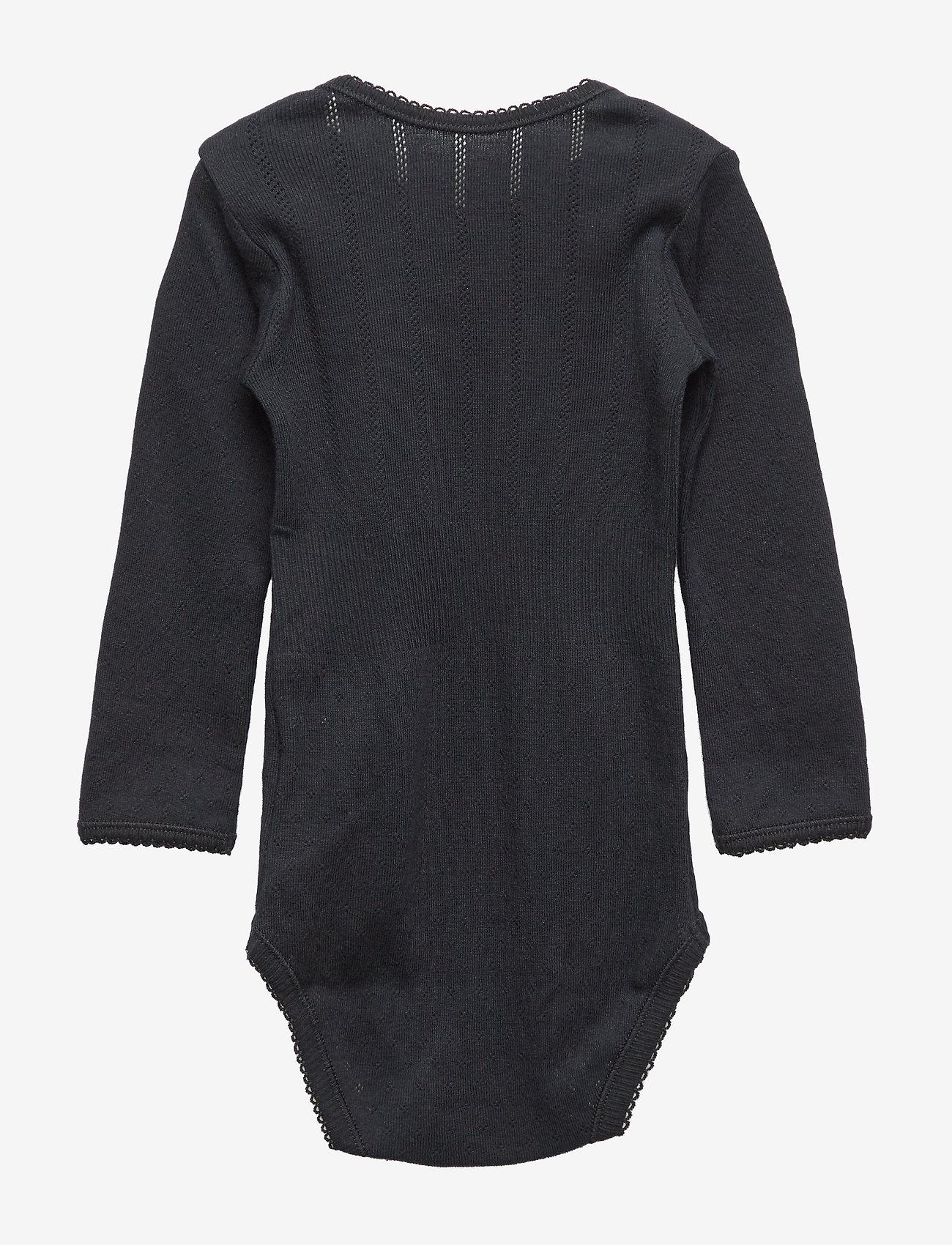 Noa Noa Miniature - Baby Body - long-sleeved - black - 1