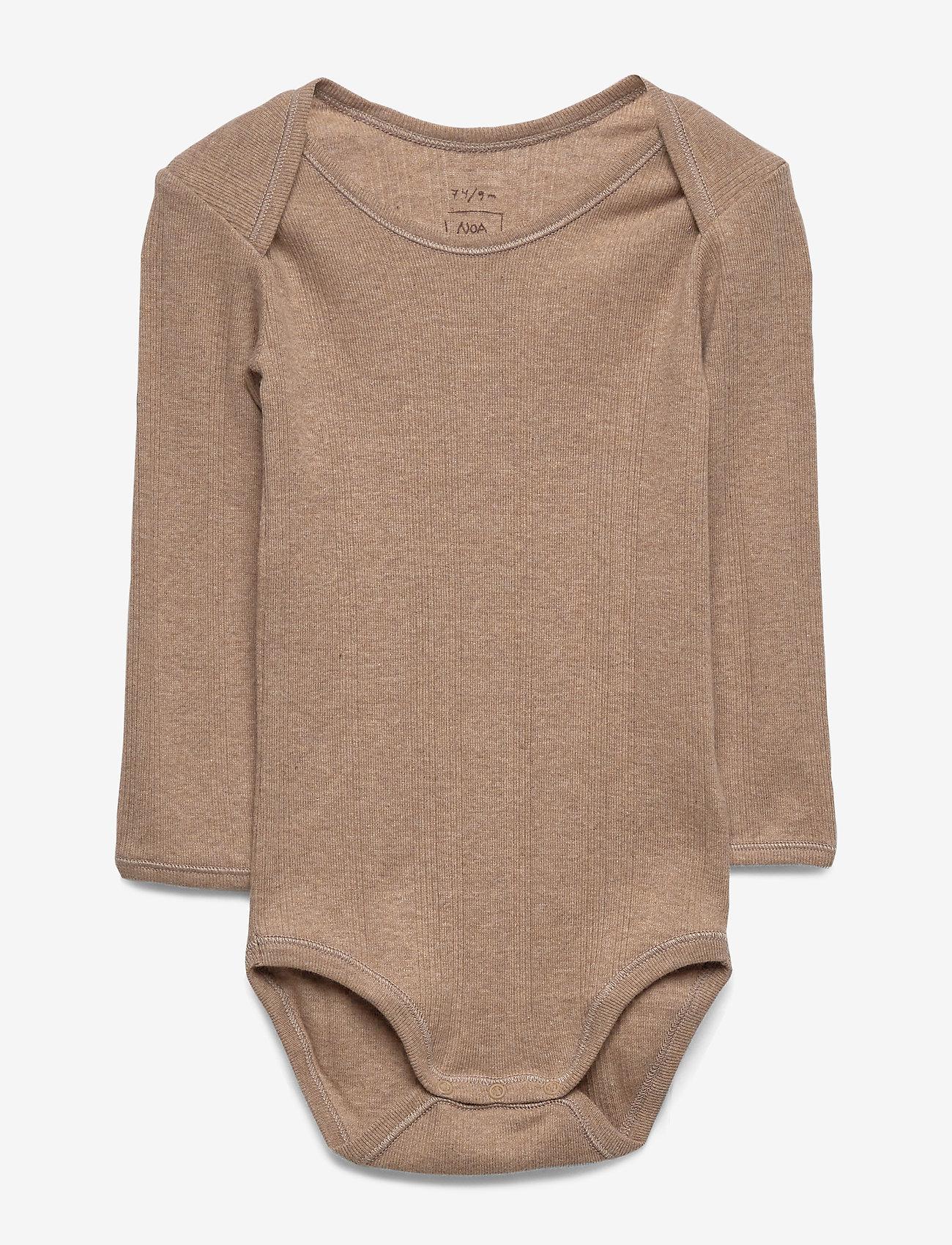 Noa Noa Miniature - Baby Body - long-sleeved - indian tan - 0