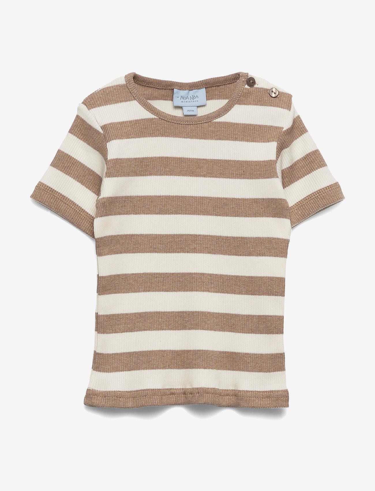 Noa Noa Miniature - T-shirt - short-sleeved - natural - 0