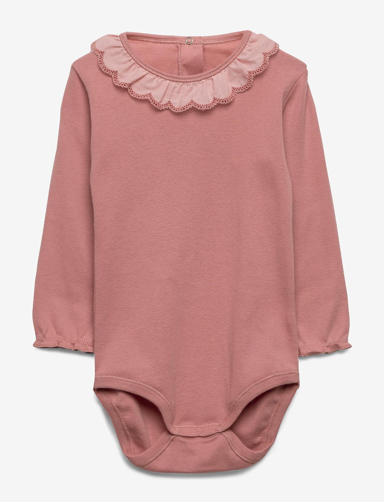 Noa Noa Miniature - Baby Body - long-sleeved - dusty rose - 0